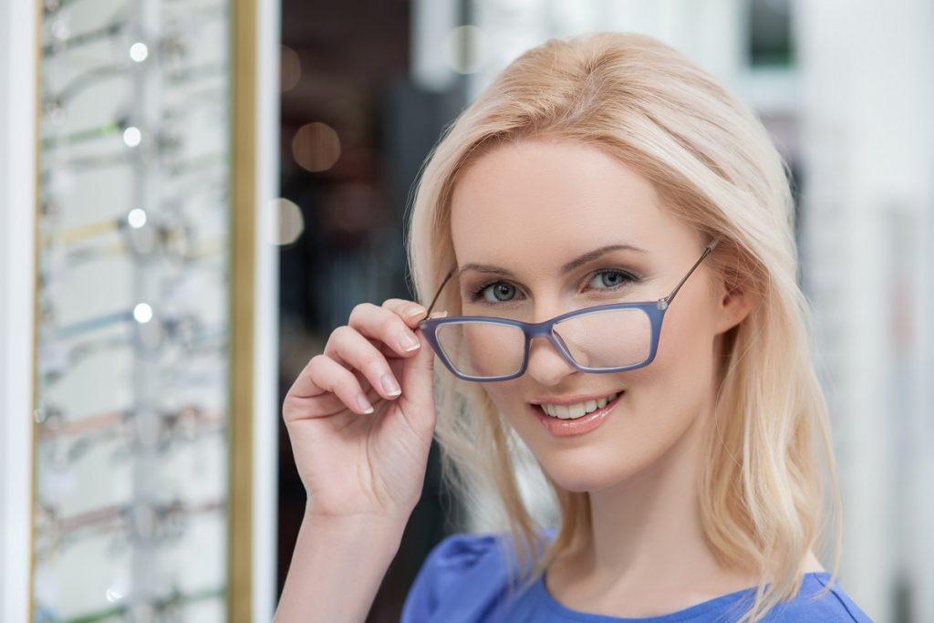 getting eyeglasses